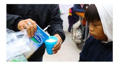 Vuelven a distribuir merienda escolar en Concepción