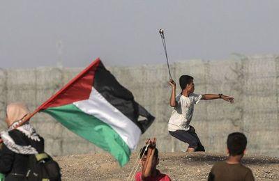 Palestino muerto y decenas de heridos por fuego israelí en protestas de Gaza