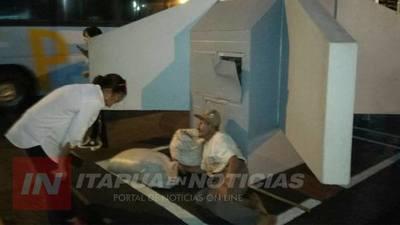 QUE NINGUNA PERSONA MUERA DE FRÍO EN ENCARNACIÓN.