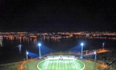 HOY / Yacyretâ reactiva compromiso de terminar obras del futuro estadio encarnaceno