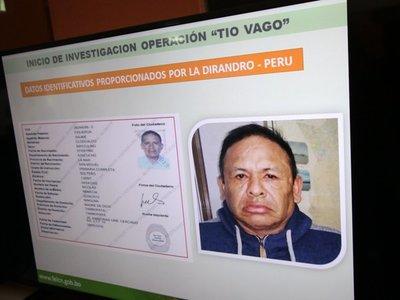 Detienen en Bolivia a narco de Perú que traficaba hacia Paraguay