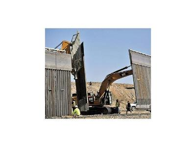 Liberan fondos para construir el muro