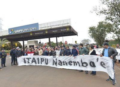 Llaman a movilización ciudadana por acuerdo de Itaipú