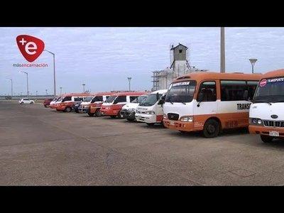 INSPECCIONAN TRANSPORTES ESCOLARES EN ENCARNACIÓN