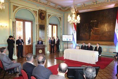 Ministros participan de presentación de plan estratégico