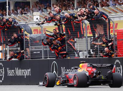 Max Verstappen se queda con el Gran Premio de Alemania
