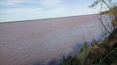Ligera crecida del río Pilcomayo