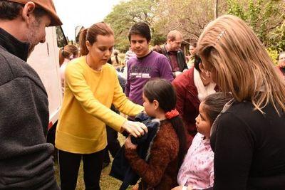 Santa Rosa: Jaymmy Careaga dona abrigo a niños del barrio Pablo Sexto