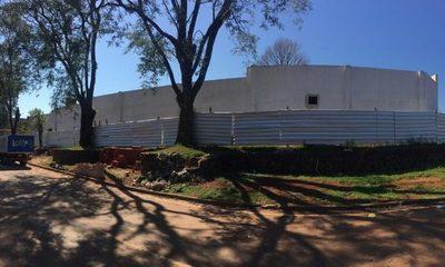 Construcción de Pabellón Oncológico donado por familiares de Bilal Esgaib está casi lista