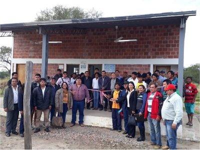 Gobernación chaqueña inaugura obras en comunidades Maskoy