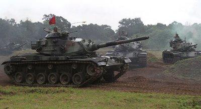 Taiwán realiza ejercicios militares en respuesta a las maniobras de China
