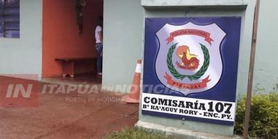 ESTUDIANTES FUERON VÍCTIMAS DE MOTOCHORROS EN B° KAAGUY RORY DE ENCARNACIÓN.