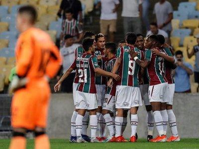 Fluminense avanza a cuartos tras vencer al Peñarol en el Maracaná