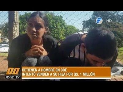 Detienen a una pareja que intentó vender a su hija de 12 días de nacida