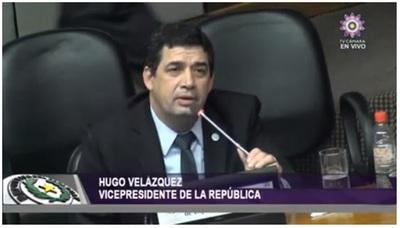 Vicepresidente declara ante el pleno de Diputados