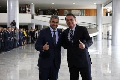 Bolsonaro dijo estar