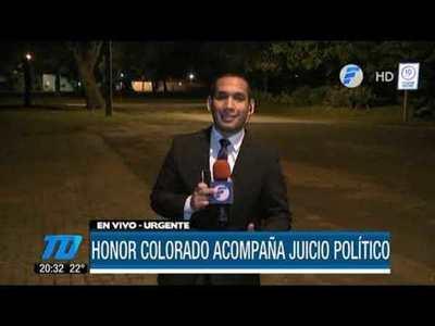 Honor Colorado acompañará juicio político a Abdo y Velázquez