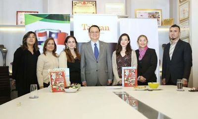 Taiwán entrega pasajes para curso de gastronomía