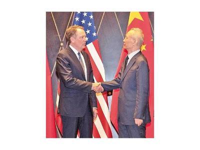 """""""Constructiva"""" negociación entre Estados Unidos y China"""