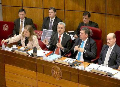 El Senado define hoy si interpela a Villamayor