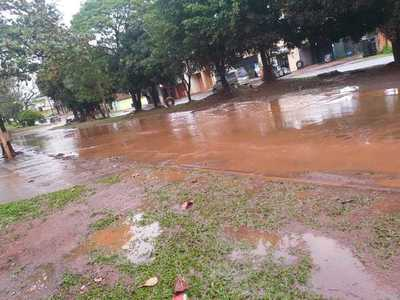 Roque Godoy solo mejora calles que benefician a sus operadores políticos