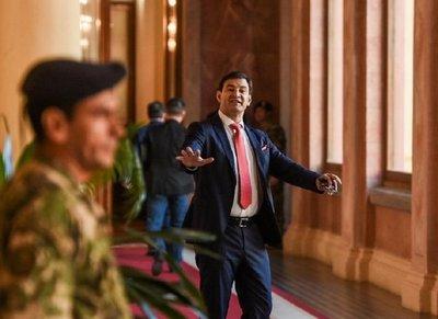 Ovelar asegura que no hay votos para enjuiciar a Mario Abdo en el Senado