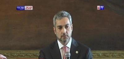 Mario Abdo agradeció a los que lo salvaron de la destitución