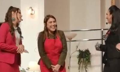 """Amalia Cutillo en la obra """"La Familia Lavalle"""""""