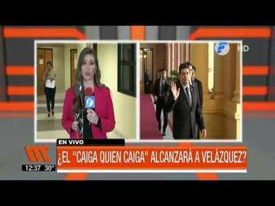 """¿El """"caiga quien caiga"""" alcanzará a Velázquez?"""