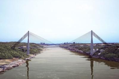 Firman Orden de trabajo para el puente en Pte. Franco