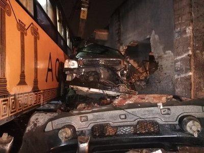 Grave accidente sobre Saturio Ríos y San Lorenzo