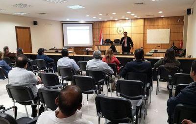 Capacitan sobre Judisoft en Guairá