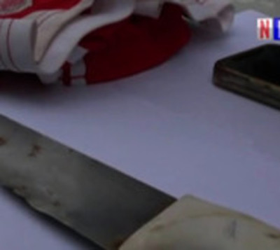 Adolescentes habrían robado celular a mujer con cuchillo de carnicero