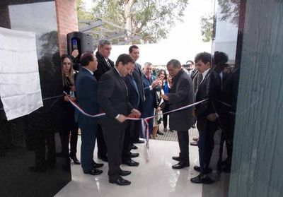 Se inauguró Juzgado de Paz de 1º de Marzo