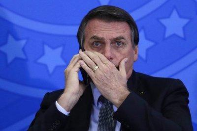 """Bolsonaro habló varias veces con Abdo durante crisis… ¿de qué?: """"Eso es confidencial"""", respondió"""