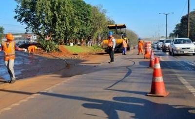 Desvíos de Multiviaducto en el Km 7 estarán listos en 15 días