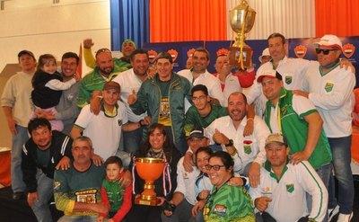El Deportivo Pilarense en flamante bicampeón