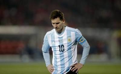 Suspenden a Messi por tres meses y una multa de 50.000 dólares por sus acusaciones de corrupción hacia la Conmebol
