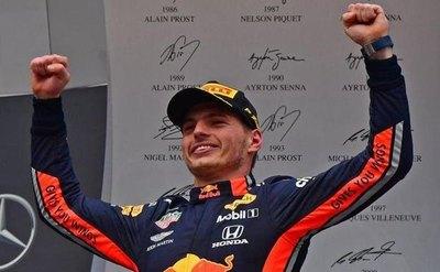 Verstappen logra al fin la primera pole position de su carrera