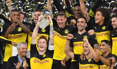 Dortmund, supercampeón de Alemania