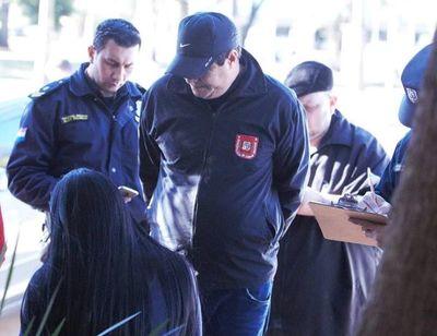 Detienen a funcionario municipal de Ciudad del Este por supuesta extorsión