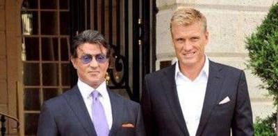 HOY / Sylvester Stallone y Dolph Lundgren trabajarán juntos en una serie de acción