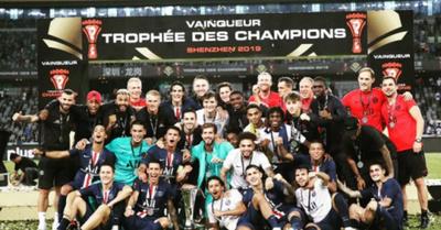 "PSG es el ""Rey"" de la Supercopa  de Francia 2019"