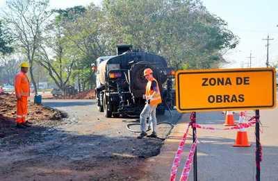 Obras de desvío del multiviaducto del km 7 concluirán en 15 días