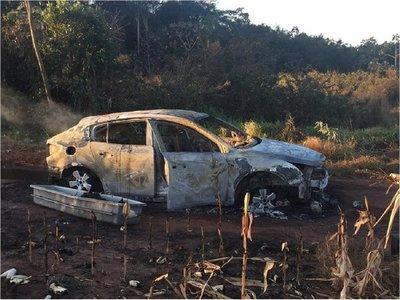 Hallan cuerpo calcinado de paraguayo en Ponta Porã