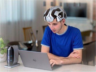 Desarrollan casco que reduce déficit de atención con descargas