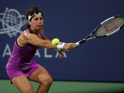 Carla Suárez derrota a Venus Williams en primera ronda