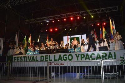 Lanzan la edición 47 del Festival del Lago Ypacaraí