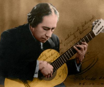 A 75 años de la muerte de Agustín Pío Barrios, Mangoré.