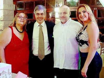 """Cuestionan """"zoquete"""" en IPS de la hermana de Payo Cubas, actual esposa de Pedro Ferreira"""